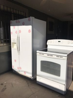 Refrigerator and stove for Sale in Laveen Village, AZ