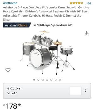 Junior drums for Sale in Zachary, LA