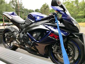 2007 Suzuki Gsxr 750 motorcycle for Sale in Mountlake Terrace, WA