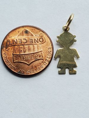 14k child charm for Sale in Germantown, MD