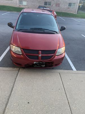 Dodge van 2007 run in perfect condition. The mileage is on the dashboard $4000 negotiable for Sale in Gaithersburg, MD