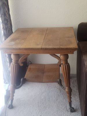 Antique Claw Foot Table for Sale in Wenatchee, WA
