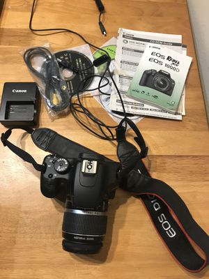 Canon Rebel XS for Sale in Houston, TX