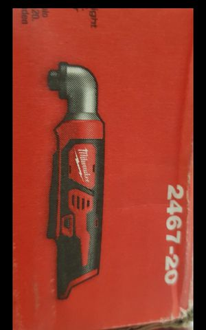 MILWUAKEE M12 CORDLESS ANGLE IMPACT DRILL TOOL ONLY BRAND NEW for Sale in San Bernardino, CA