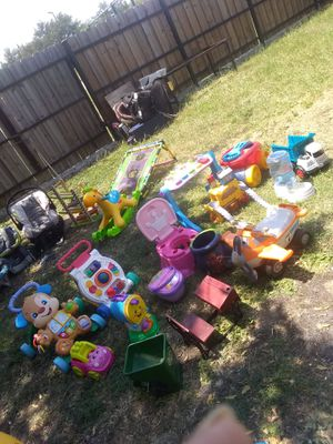 Walkers and kids toys for Sale in Dallas, TX
