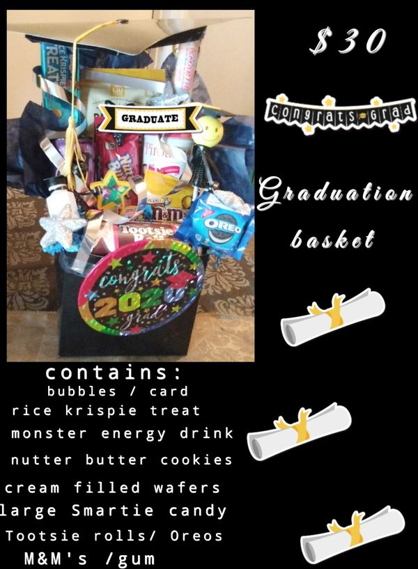 Graduation Basket by Christy! Any occasion available