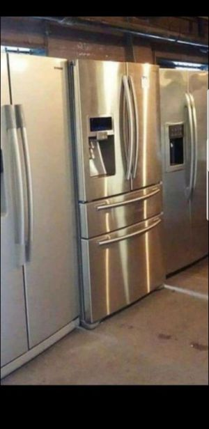 Huge Sale store full of nice reconditioned refrigerator washer dryer stove stackable+financing available available free warranty🐾🌼🍀\%\/ for Sale in Seattle, WA