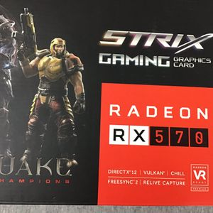 ASUS RADEON RX 570 4 GB STRIX GAMING for Sale in Hialeah, FL