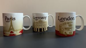 Starbucks Collector Mugs European edition for Sale in Tacoma, WA