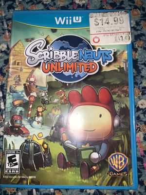 Wii U Game ScribbleNauts Unlimited only $5 for Sale in Downey, CA