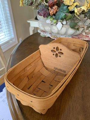 Longaberger small bread basket for Sale in Oxford, CT