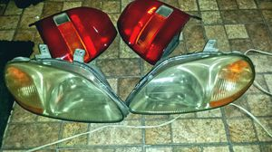 Honda civic 96 and up head lights taillights for Sale in Miami, FL