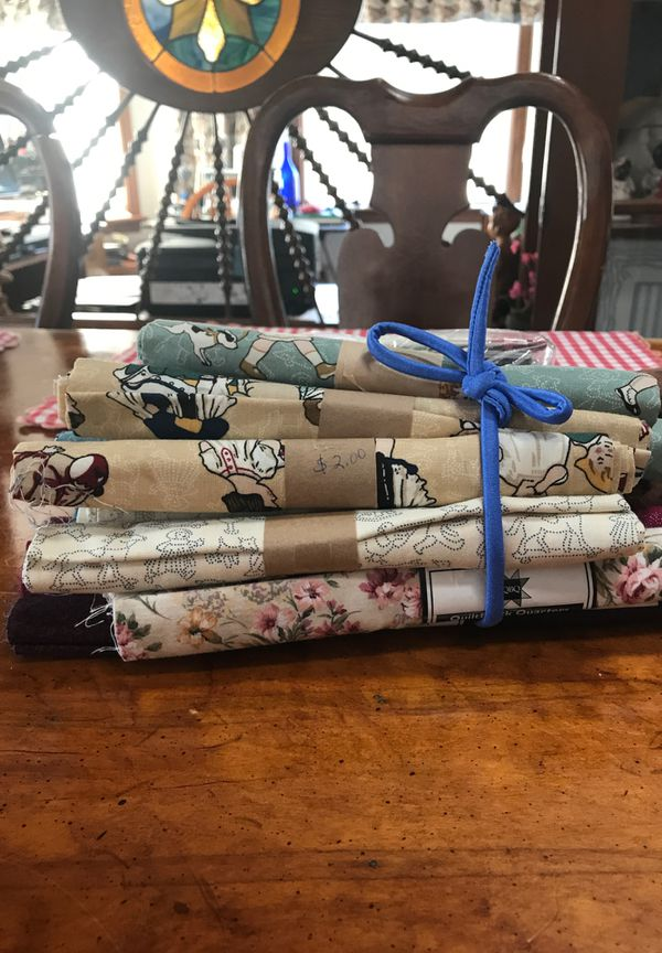 Fabric fat quarters for Sale in Brecksville, OH - OfferUp