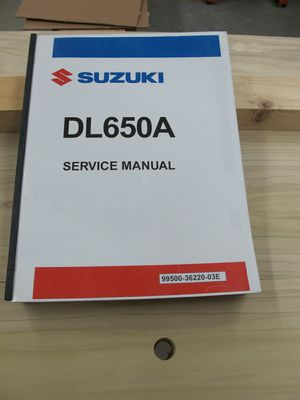 Suzuki Motorcycle Manual for Sale in Tigard, OR