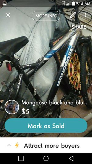 Mongoose bicycle for Sale in Fort Smith, AR