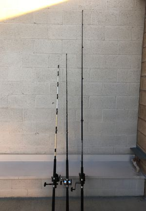Fishing rod and reel for Sale in Norwalk, CA