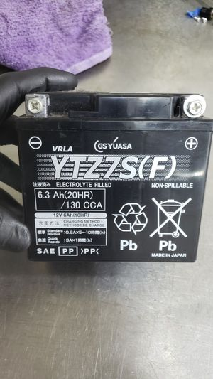 Battery Yuasa YTZ7S fits 2015 and up Yamaha R1. for Sale in Rancho Cucamonga, CA
