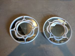 Matching small round decorative mirrors for Sale in Imperial, MO
