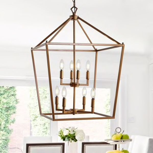 "Pagoda 20"" Pendant Light"