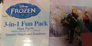 Disney Frozen 3 in 1 Activity Game box for Sale in Chicago, IL