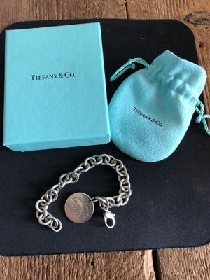 Tiffany & Co. Round Tag Bracelet for Sale in Suwanee, GA