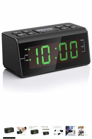 "Brand new Digital Alarm Clock Radio with AM/FM Radio, 1.2"" Big Digits Display, Sleep Timer, Dimmer and Battery Backup, Bedside Alarm Clocks with Easy for Sale in Walnut, CA"