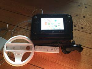 Nintendo Wii U black 32gb for Sale in Seattle, WA