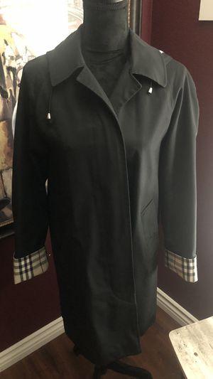 Burberry Rain Coat with hood for Sale in Perris, CA