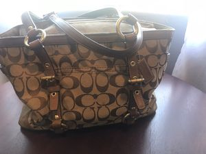 Coach brown purse for Sale in Montebello, CA