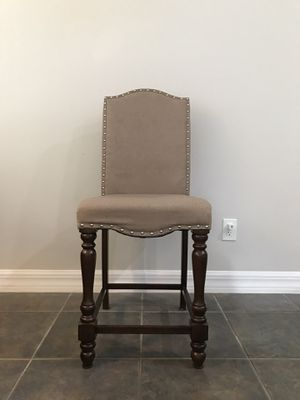 Counter height upholstered chairs for Sale in Riverview, FL