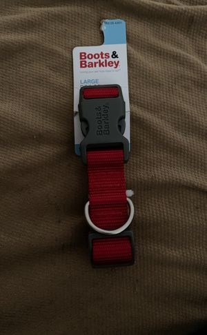 Brand new red dog collar for Sale in Wichita, KS