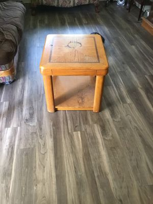 Solid oak wood night stand or end table for Sale in Lynchburg, VA
