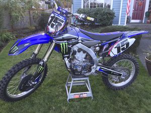 2010 Yamaha YZ450F Motorcycle for Sale in Everett, WA