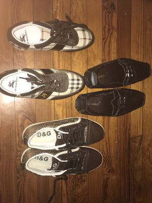 Louie v, D&G, Burberry men's shoes for Sale in Columbus, OH