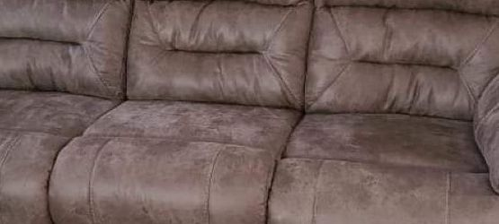Pet Friendly Fabric Recliner Sofa & Loveseat Set for Sale in Kennesaw,  GA