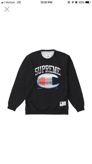 Supreme/Champion Crewneck for Sale in Canton, MI