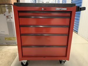 "Craftsman 26.5"" x 18"" Red 5-Drawer Rolling Tool Cabinet for Sale in Herndon, VA"