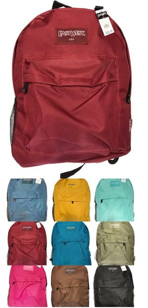 Brand NEW! Regular Size Backpacks For School/Traveling/Everyday Use/Work/Gym/Hiking/Biking $8 EACH for Sale in Carson, CA