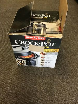 Crock pot express xl,8Quart for Sale in Melvindale, MI