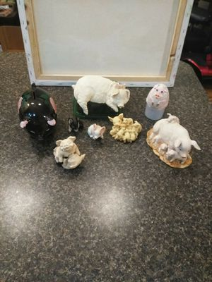 Collectables, pig collection. Delft blueshoe fvrom Holland. for Sale in Aloma, FL