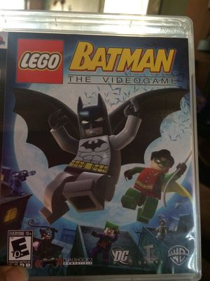 Batman lego PS3 game rated E 10+ for Sale in Apache Junction, AZ