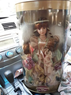 Collectible genuine porcelain doll for Sale in New Canton, VA