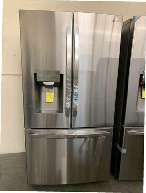 LG 22 cu. ft. French Door Smart Refrigerator with Wi-Fi Enabled Same day or next day delivery available for Sale in Whittier, CA