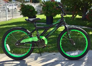"Huffy Decay 20"" Kids' Bike - Black/ Neon Green for Sale in Azusa, CA"
