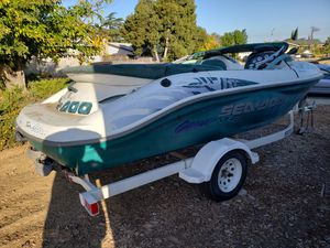 1997 SEA DOO CHALLENGER 1800 TWIN MOTOR JET BOAT. for Sale in Pittsburg, CA