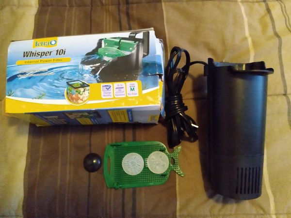 Tetra Whisper In-Tank Filter with BioScrubber for aquariums