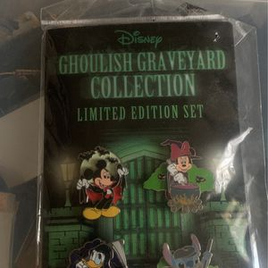 Disney Limited Edition Pin Set for Sale in Magna, UT