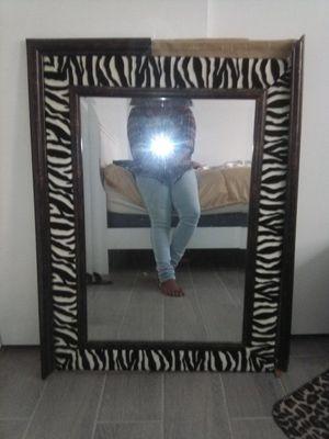 Zebra frame mirror for Sale in Riverside, CA