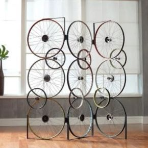 Three Panel Vintage Bicycle Wheel Divider/screen for Sale in Teaneck, NJ