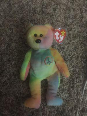 "Peace Beanie Baby""Tag ERROR Origiinal"" spelling RARE!!! for Sale in O'Fallon, MO"